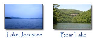 Lake Jocassee and Bear Lake are some of the other Lake near by that offer great Real Esate Options.